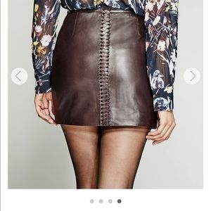 Guess by Marciano Heather leather skirt